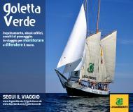 SOS Goletta Verde 2016 per difendere il mare dall'inquinamento. In Puglia dal 24 al 30 luglio