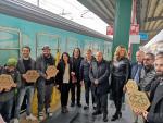 Il Treno Verde di Legambiente e Ferrovie dello Stato Italiane a Bari